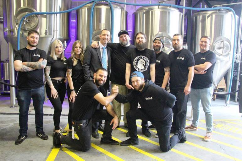 Ghost Hawk is the First Craft Brewery in Passaic County