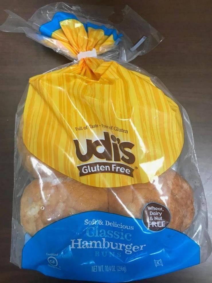 Package Front - Udi's  Gluten Free, Classic Hamburger Buns.jpg