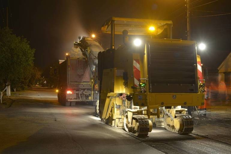 Advisory: Overnight Paving in Morristown on Tuesday Evening