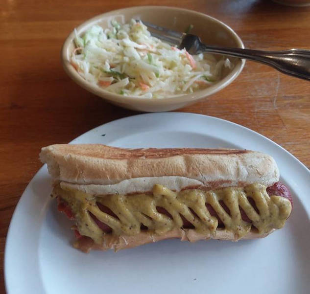 Pastrami and Pickles hot dog and cole slaw.png
