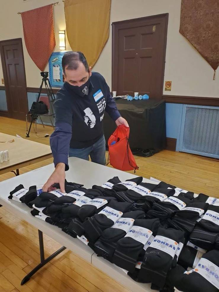 600 Hygiene Kits Assembled for Bloomfield MLK Day of Service