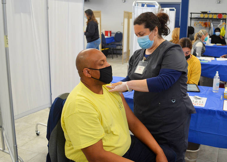 Union County Mobile COVID-19 Units Bring Vaccines to Seniors in Scotch Plains