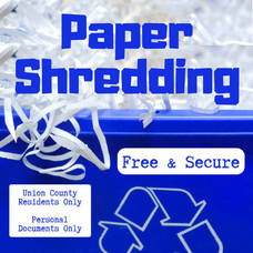 Union County Holds Free, Secure Document-Shredding Event for all Residents, June 26