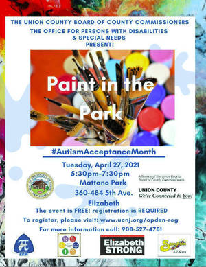 Celebrate Autism Acceptance Month in Union County with Paint in the Park