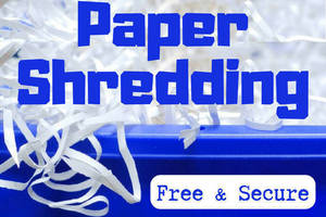 Free Document Shredding Event Set for May 15