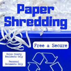 Union County Holds Free Document-Shredding Event, May 15