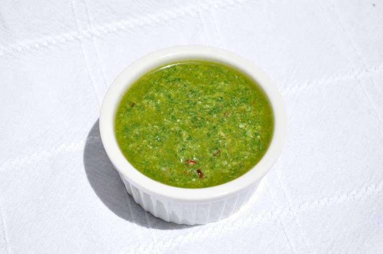 lemony pesto sauce