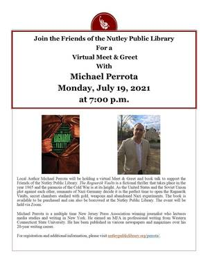 Virtual Meet & Greet with Local Author Michael Perrota Hosted by Nutley Public Library