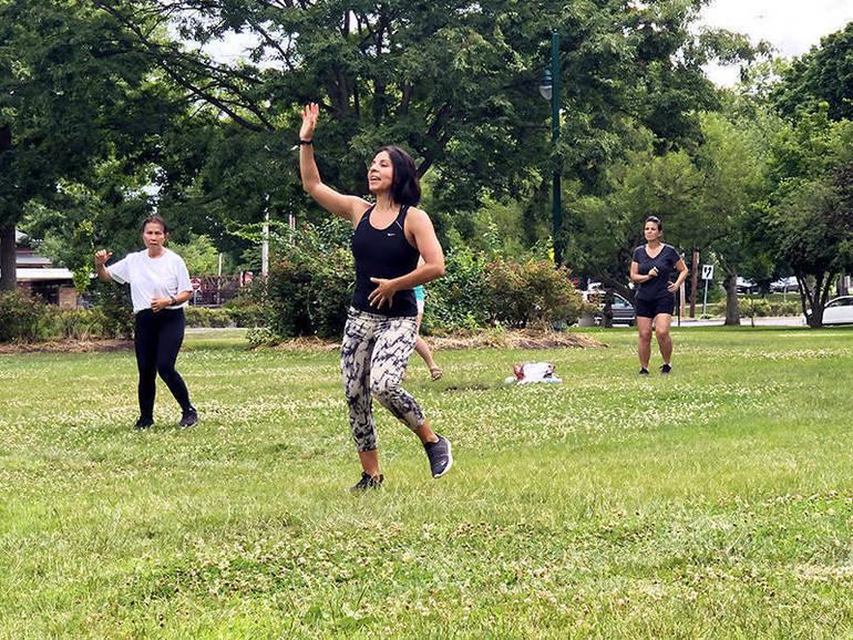 Cardio Salsa Outdoor Group Exercise