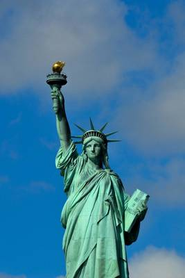 Little Lady Liberty Arrives From France to Share Independence Day with Sister, Lady Liberty