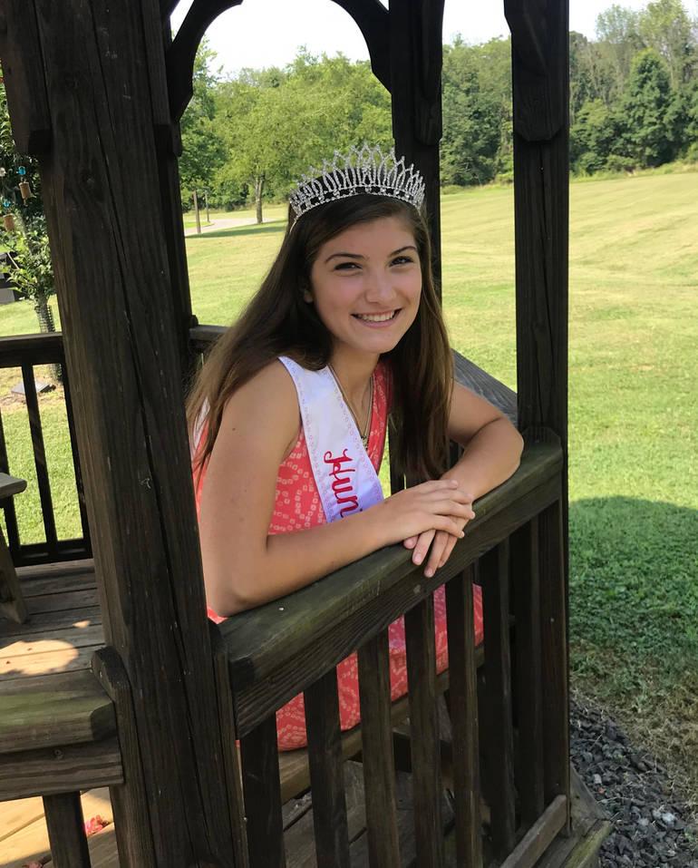 Dairy Princess Rachel Ewing 2019