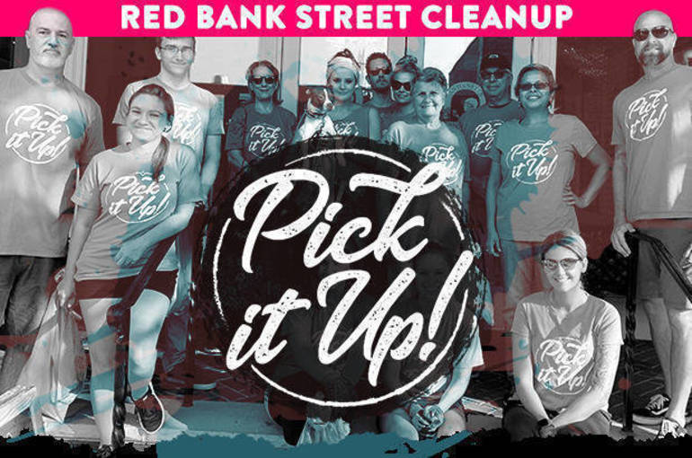 """Come Out for """"Pick it Up!"""" in Red Bank"""