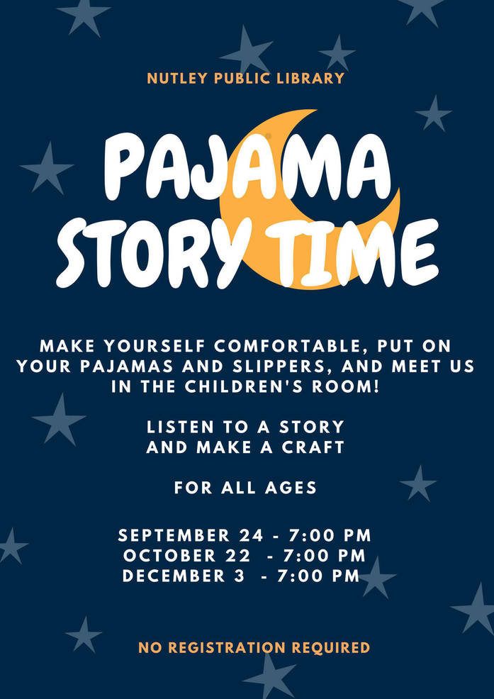 Pajama Story Time at Nutley Public Library