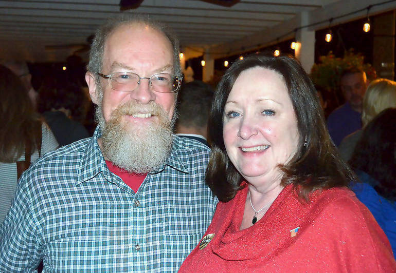 Tom and Pat Plante easily won victory in Fanwood's District 7.