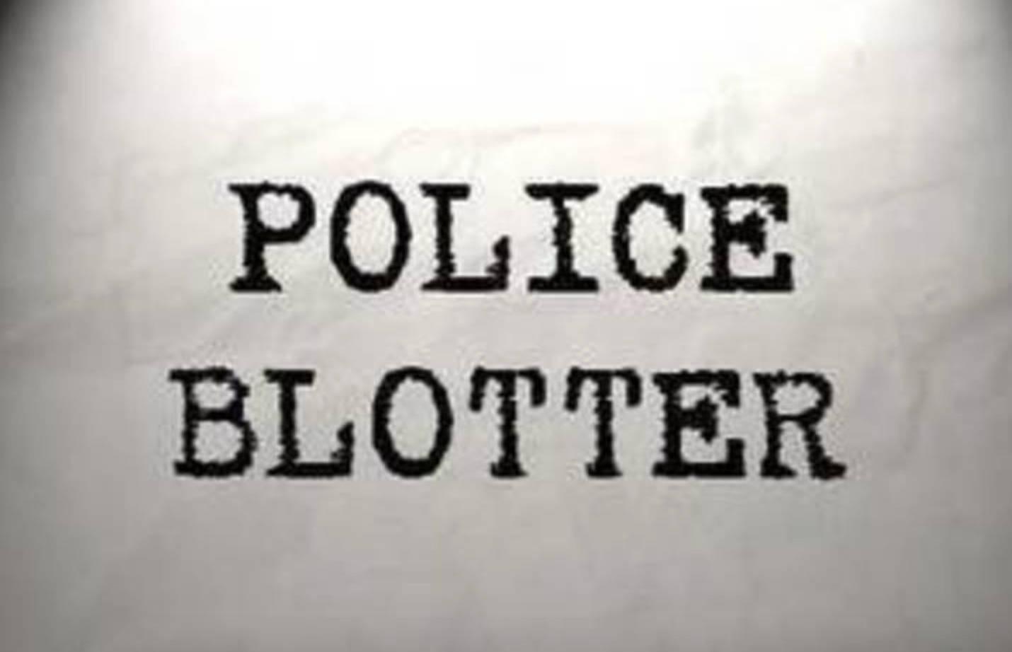 Cedar Grove Police Blotter