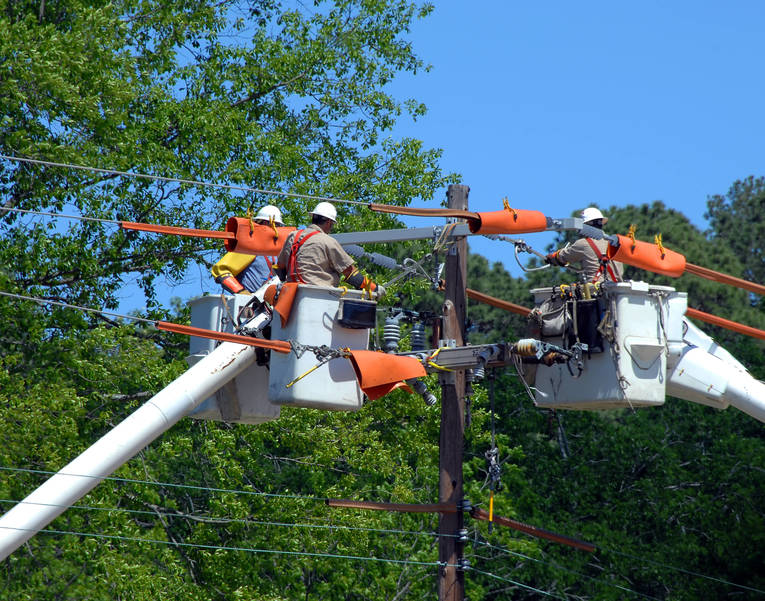After Several Days and Nights Without Power, Morristown is Almost Totally Restored