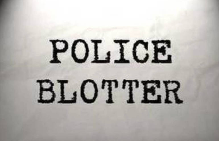 Police Blotter for Aug 20 - Aug 28