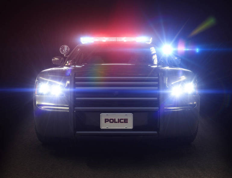 High Speed Vehicle Racing Through Florham Park Wanted for Traffic Violations Pursued by State and Local Police