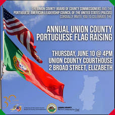 Union County to Hold Annual Portuguese Flag Raising on June 10