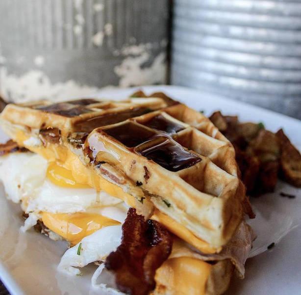 Waffle sandwich NJ