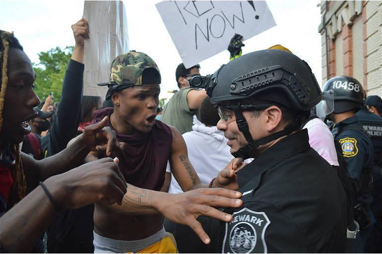 Protestor in Newark - Daniel Han.png