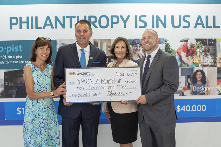 The YMCA of Montclair Awarded $10,000 Major Grant  from The Provident Bank Foundation