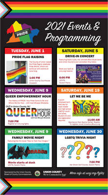 Union County Celebrates PRIDE Month 2021