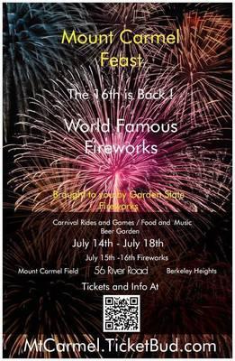 Mt. Carmel Festival is Back: Fireworks, Food & Family Fun