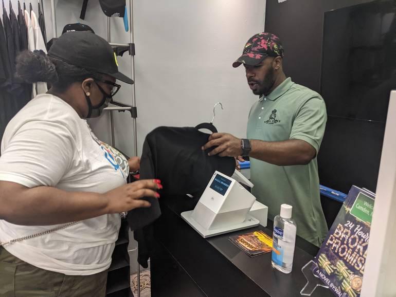 Buying a t-shirt