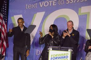Obama Backs Murphy in Newark's Weequahic Park as Gov. Race Heats Up