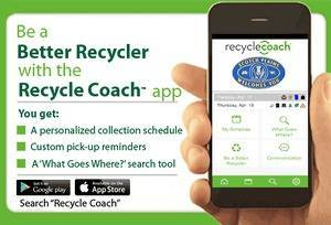 Maplewood Launches New Recycle Coach Mobile Application