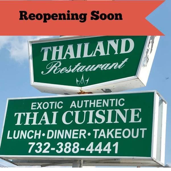 Local Landmark Thailand Restaurant in Clark Set to Reopen