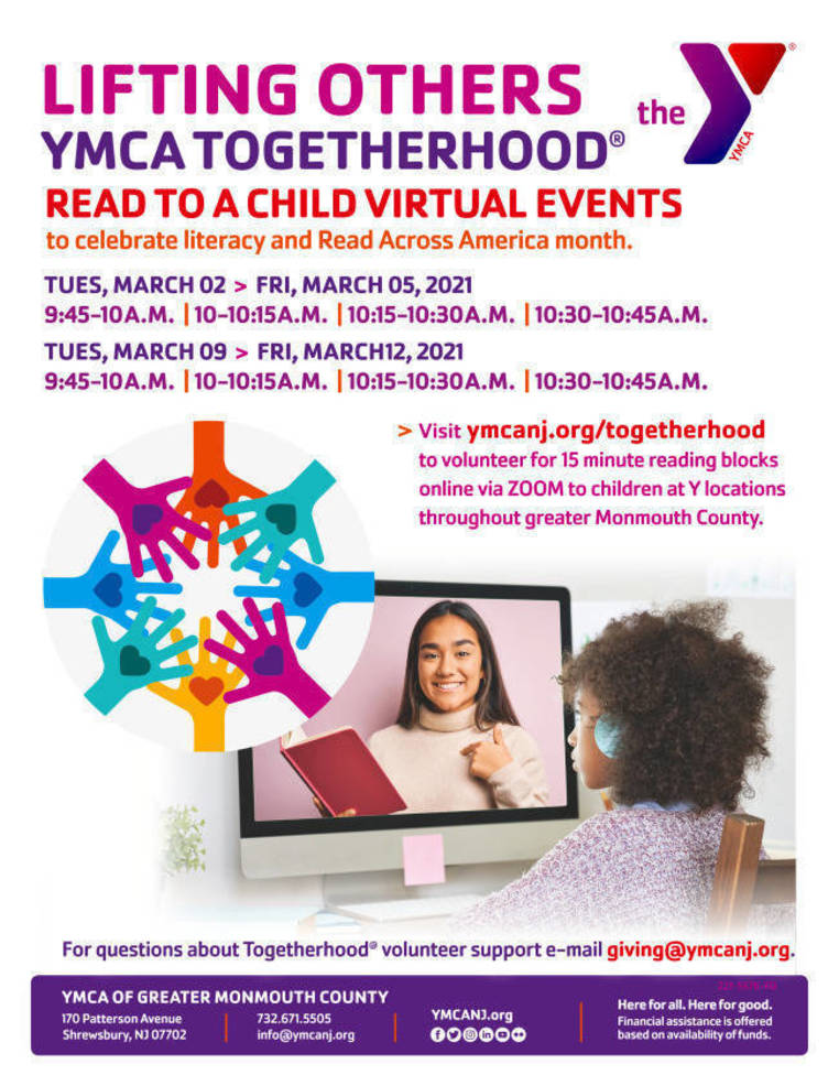 "Volunteer to ""Read to a Child"" via YMCA ZOOM"