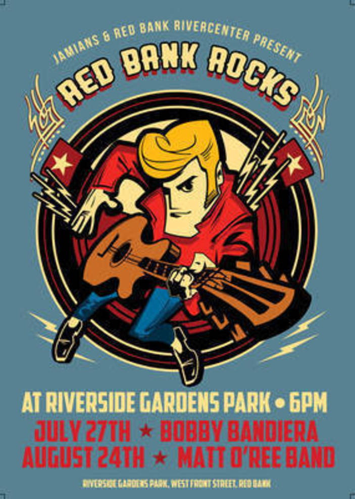 Local Rock Legend from Holmdel Will Rock the Concert in the Park in Red Bank – Friday, August 24th