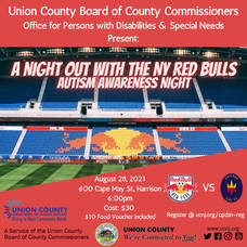 Support Autism Awareness Night at Red Bull Arena, August 28