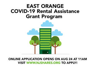 East Orange Rental Assistance is Still Available