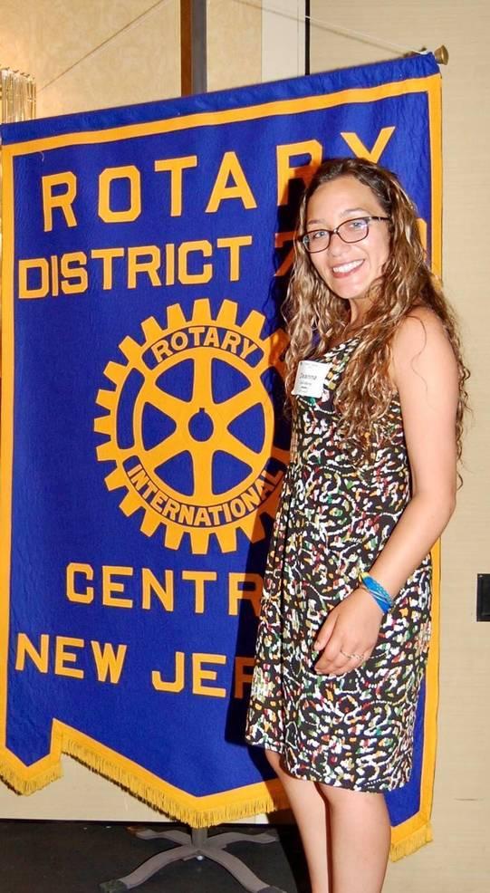 Fanwood-Scotch Plains Rotary President-Elect Deanna Dell-Bene