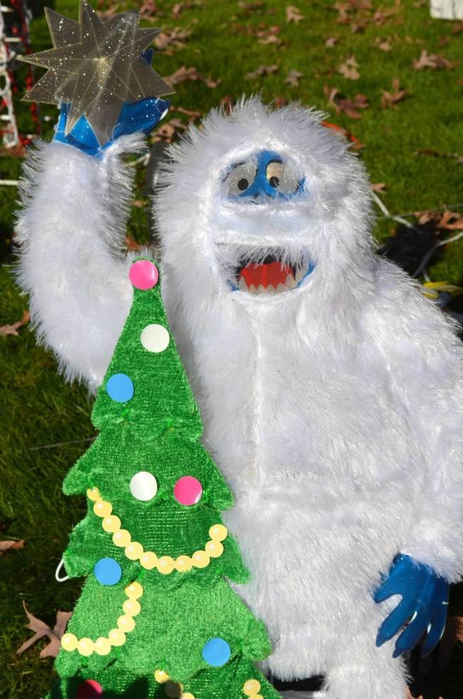 The Bumble at Fanwood's Famous Christmas House.