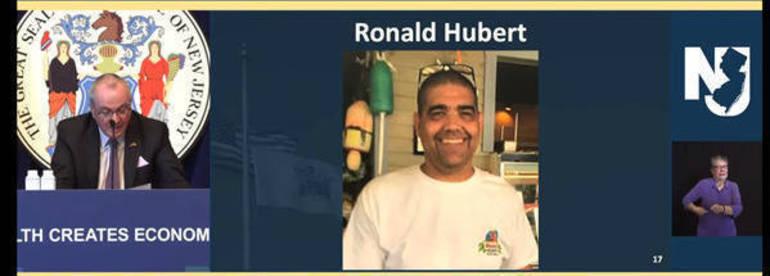 Ron Hubert. Ocean Township, Waretown