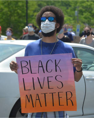 Black Lives Matter March Goes from Scotch Plains-Fanwood HS to Historic Shady Rest Clubhouse