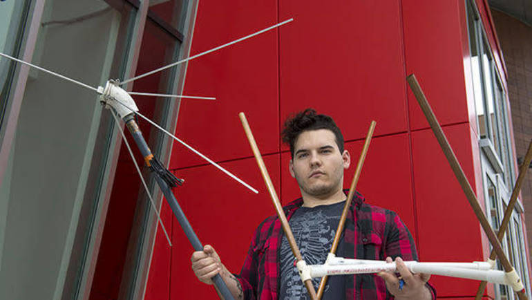 Rutgers Senior Heads Student-Led Rocket Launch | TAPinto