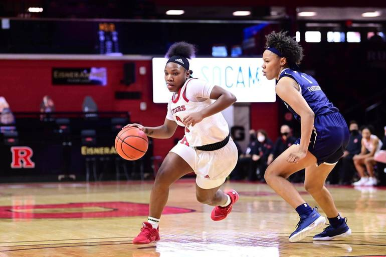Rutgers Women's Hoops Runs Past Monmouth to Start 1-0