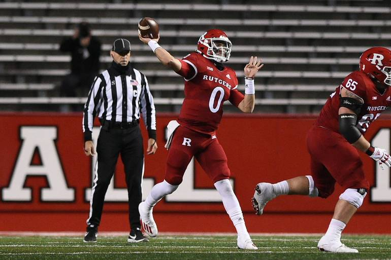 Rutgers Football Edged in 3OT Thriller with Michigan, 48-42