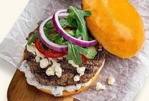 Summer Grilling Recipe:  Mediterranean Burger