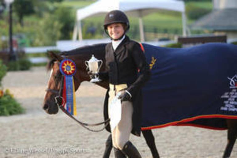 N.J. Rider Wins Grand Championship At USEF Pony Finals