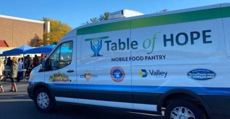 Table of Hope's Free Food Distribution is April 8 in Morristown