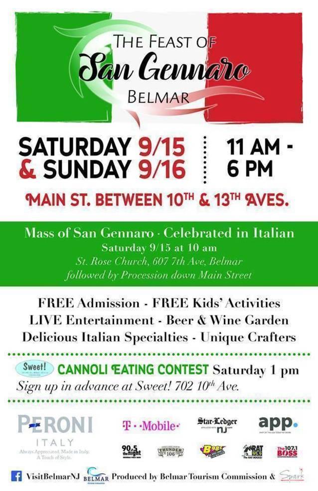 Belmar's Feast of San Gennaro Celebrates Italian Heritage