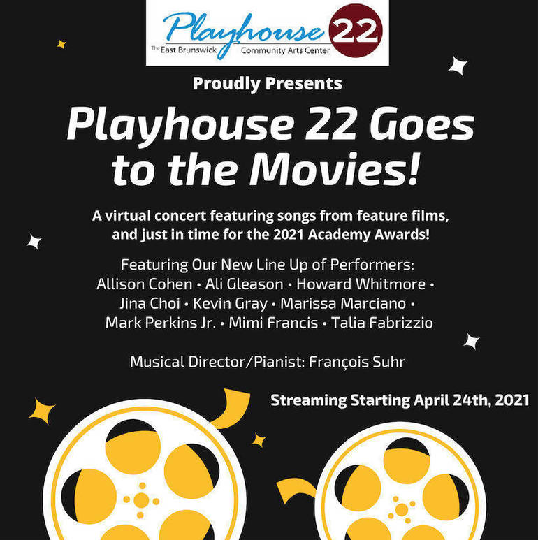 """Celebrate the Oscars with """"Playhouse 22 Goes to the Movies"""""""