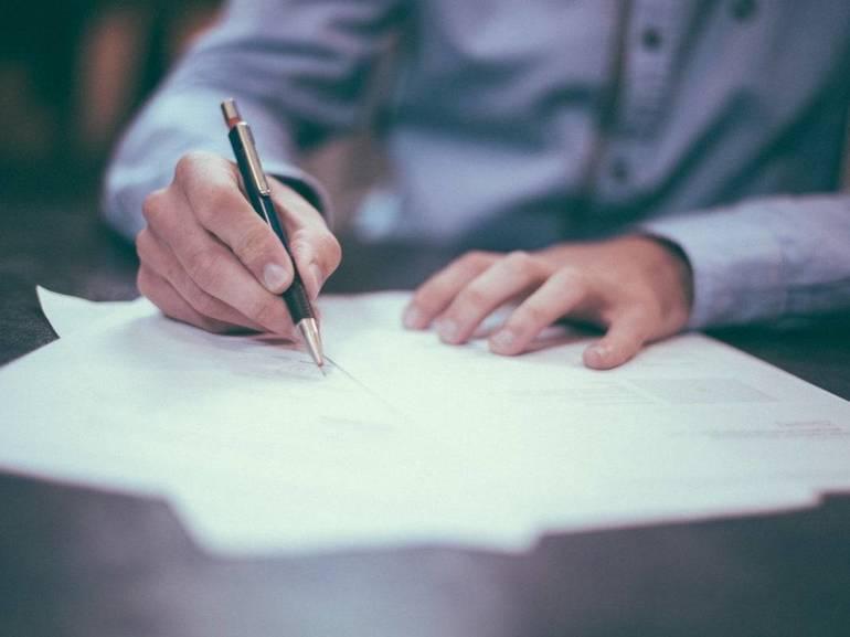man paperwork grants