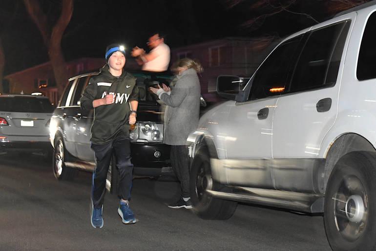 Run, Brady, Run: Summit 13-Year-Old Logs 48 Miles in Two Days to Benefit Goryeb Children's Hospital